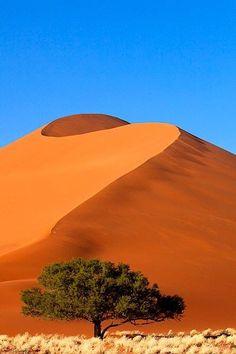 Sand dunes, Sossusvlei, Namib-Naukluft Picturesque sand dunes in Sossusvlei, Namib-Naukluft National Park, Namibia. #desert #Nambia #traveldestinations2015