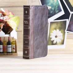"""Trendy leren iPhone hoesjes - #vintage leather iphone case 