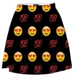 Emoji Skirt from Print All Over Me