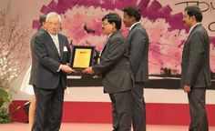 The team from TAFE Sembiam recently received the 'Award for Excellence in Consistent TPM Commitment – 2014' at the JIPM award ceremony held in Kyoto, Japan. This brings us to a happy ending of the #TPM journey for 2014 which began in August 2014 with the audits by #JIPM.  Read more and view picture on TAFE Cafe @ tafecafe.org/node/740