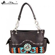 MW65-8085 Montana Western Aztec Collection Handbag