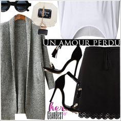 Her gearbest by teoecar on Polyvore featuring moda, Chanel, ...Lost and lkid