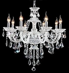 Luxury Crystal Chandelier Montreal Dining Room For Chandeliers