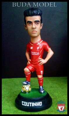 Philippe Coutinho.Resin.Figurines Statue Caricature by BUDAMODEL