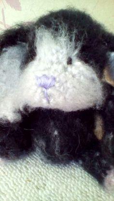 OOAK handmade bunny by Lisa