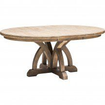 Italian Lyre Dining Table - Dining - Furniture