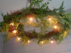 Enchanted Forest Weddings | enchanted forest wedding. This would be awesome to decorate the ceiling of the dance flood
