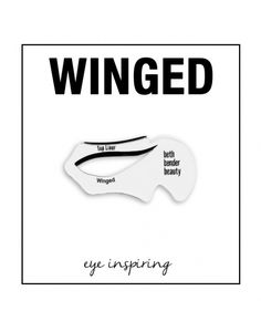 Create popular Winged Liner and Cat Eye Makeup styles with ease using our unique Winged Eyeliner Stencil/Cat Eye Makeup Stencil. Simple, quick, with professional results. Perfect Cat Eyeliner, Best Black Eyeliner, Cat Eye Eyeliner, Cat Eye Makeup, How To Apply Eyeliner, No Eyeliner Makeup, Eye Makeup Tips, Eyeliner Pencil, Makeup Ideas