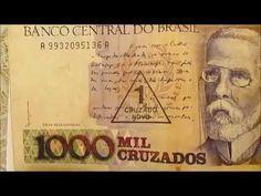 Colecao Dinheiro Antigos Notas Raras Youtube Com Imagens