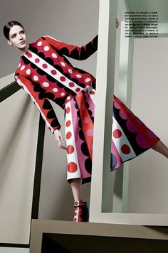 Graphic & Graphic: By Craig Mcdean For Vogue Italia July 2014 - Valentino