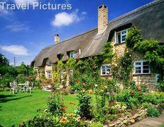 english cottages   Uk, Gloucestershire, Thatched Cottage Near Tewkesbury, 3010217, Europe ...