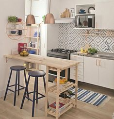 Awesome practical small living dining room 00021 ~ Home Decoration Inspiration Small Room Design, Dining Room Design, Inside Design, Rustic Kitchen, Kitchen Decor, Kitchen Ideas, Design Kitchen, Kitchen Inspiration, Diy Kitchen