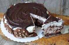 Torta pan di stelle alla nutella e panna, mascarpone, ricetta facile dolce senza forno, idea per feste di compleanno, dolce facile idea per bambini, torta biscotti