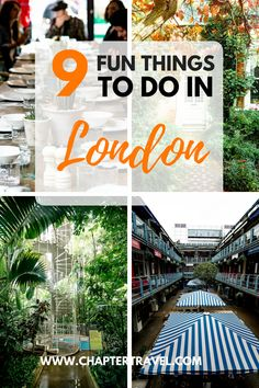 In this article we share 9 fun things to do in London during a long weekend! Not only popular activities, such as going in the London Eye, but actually mostly unusual activities in London! #London #UK