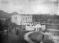 vintage White House