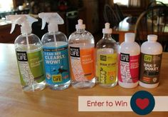 Better Life cleaning products giveaway | Safe and effective natural clearner