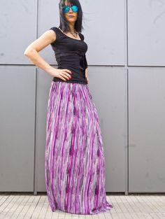 Women Long Plus Size Skirt / Women's Clothing / Loose by yolinexl