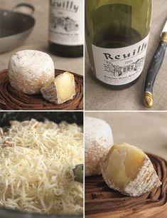 Risotto berrichon au Reuilly, girolles, lard fumé et crottin de Chavignol - Cuisine Campagne