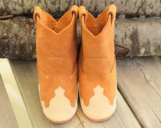 Quality leather accessories for all ages. by GypsyPlaid on Etsy Newborn Cowboy, Baby Cowboy Boots, Little Cowboy, Baby Boots, Western Boots, Cowgirl Baby Showers, Leather Moccasins, Spring Shoes, Leather Accessories