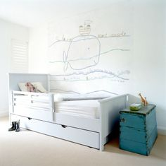 new illustrated wallsticker for kidu0027s rooms is frenchy chic