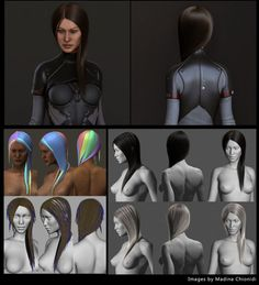 GMH2 for Maya Hair ScriptComputer Graphics & Digital Art Community for Artist: Job, Tutorial, Art, Concept Art, Portfolio