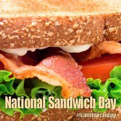 National Sandwich Day - November 3, 2017