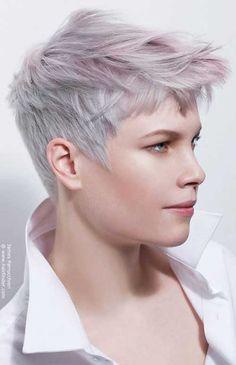 9. Corte de cabelo super curto