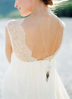 The Simple and Chic Beauty of a Backwards Necklace - see more at http://fabyoubliss.com