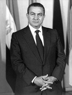 President Of Egypt, Hosni Mubarak, Stock Pictures, Stock Photos, Royalty Free Photos, Rome, Presidents, Suit Jacket, History