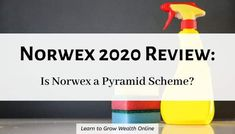 Norwex review: So you heard Norwex has an income opportunity. Is Norwex a pyramid scheme? Does it really work? How much can you earn with Norwex? Let's see:  #isnorwexapyramidscheme #norwexapyramidscheme #norwexpyramidscheme #isnorwexapyramid #isnorwexascam #isnorwexscam #norwexascam #norwexscam #norwexscams #norwexreview #norwexreviews #anorwexreview