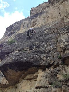 Rock Climbing is a growing sport in the Black Hills. Spearfish Canyon features top notch limestone routes.