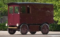 1909 Walker Electric Delivery Truck