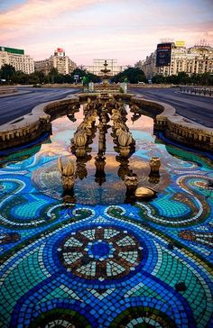 It's not Budapest. This is Bucharest, capital city of Romania. Places Around The World, Oh The Places You'll Go, Travel Around The World, Places To Travel, Places To Visit, Around The Worlds, Travel Destinations, Worldwide Photography, Little Paris