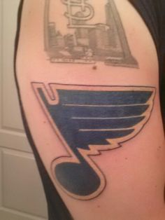 St louis blues tattoo