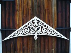 Thermocol Craft, Gable Decorations, Swedish Farmhouse, She Sheds, Backyard Garden Design, Scroll Design, Historical Architecture, Victorian Homes, Decorating Tips