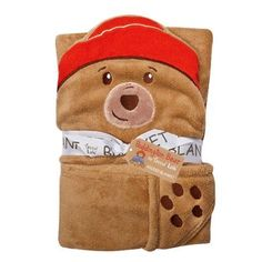 Paddington Bear Hooded Blanket, Brown