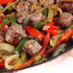 Italian Sausage and Peppers Recipe | Just A Pinch Recipes