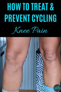 I had knee pain from cycling for a long time until I started changing a few things. That is the reason I wrote an article about it to share my experiences on how you can treat and prevent the pain. I was so thankful when I was able to ride my bike again without pain. What are your experiences with knee pain from cycling? Learn how the treatment and the prevention work. #cyclingtraining #workout #tips #forbeginners