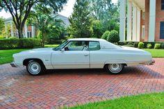 "Beautiful 1974 Chevrolet Impala ""Spirit of America"" trimmed edition. Classic Chevrolet, Chevrolet Bel Air, Vintage Cars, Vintage Auto, Classic Cars, Classic Auto, Gm Car, Camaro Rs, Cheap Cars"