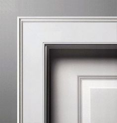 calculation Wider Trim Mouldings - accumulation additional layers of trim and crown moldings adds for that reason much setting to a room and gives your house a custom built Interior Window Trim, Doors Interior, House Trim, Door Casing, Interior Door Trim, Contemporary Doors, Door Trims, Modern Windows, Traditional Doors