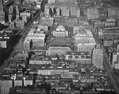 Columbia University in 1957, New York City