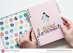 Get It Done! Travelbook Anatomy @pinkpaislee @akossakovskaya #pinkpaislee #ppAtlas #scrapbooking #diy #travelbook