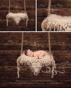 Wooden Swing With Wooden Background - Beautiful Digital Newborn Photography Prop download - psd with Layers