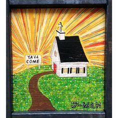 MYa'll Come | J-MAN | Folk Art | The Art of Dixie – ArtofDixie