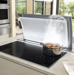"""The Jenn-Air 36"""" Induction Cooktop makes a compelling argument for modern induction technology."""