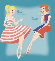 Barbie and Midge - Barbie: Life in the Dreamhouse Fan Art (35465638) - Fanpop