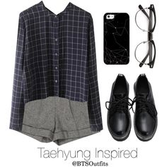 Basic Colors: Taehyung by btsoutfits on Polyvore featuring Alice + Olivia and…