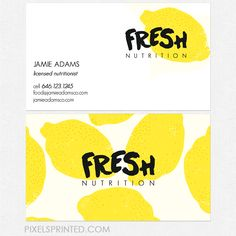 dietitian business cards nutritionist business cards, personal chef business cards, healthy chef business…Personal Personal may refer to: Business Card Maker, Unique Business Cards, Business Branding, Business Card Design, Identity Branding, Business Card Logo, Visual Identity, Id Card Design, Graphisches Design