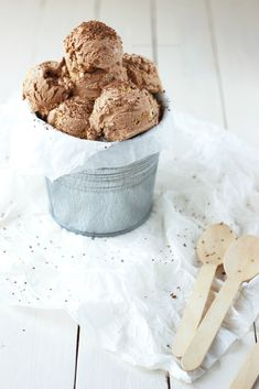 Tiramisu Ice Cream. Lovely for a rich and delightful dessert.