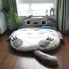 Totoro futon! Sleep well, otakus...